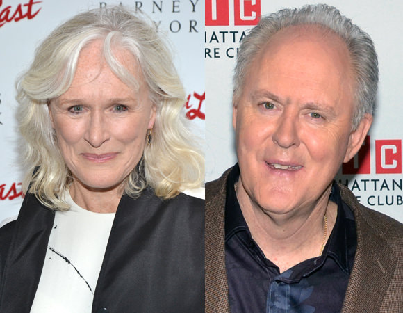 Glenn Close and John Lithgow A Delicate Balance Announcement